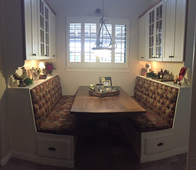 Breakfast Nook After